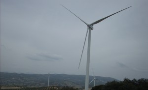 Parque Eolico Sierra de Arcas