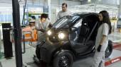Adecuación nave y sala de baterías para vehículo eléctrico renault ZE