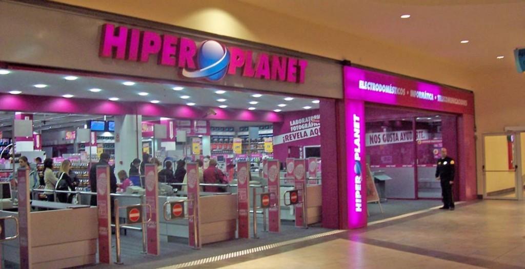 Hiperplanet en Centro Comercial