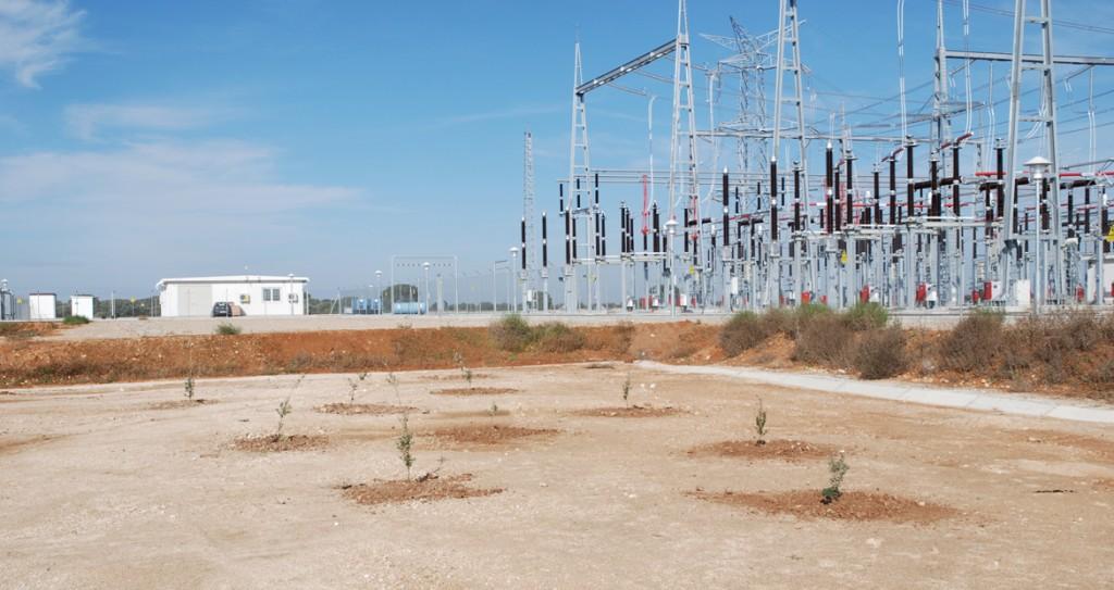 Subestación electrica Cerrato