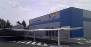 Ejecución y adecuacion nave supermercados Lupa