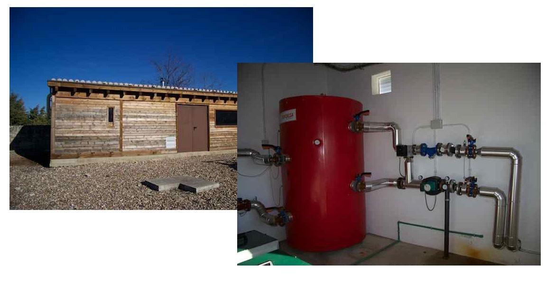 Caldera de Biomasa en C.I.N. de Matallana