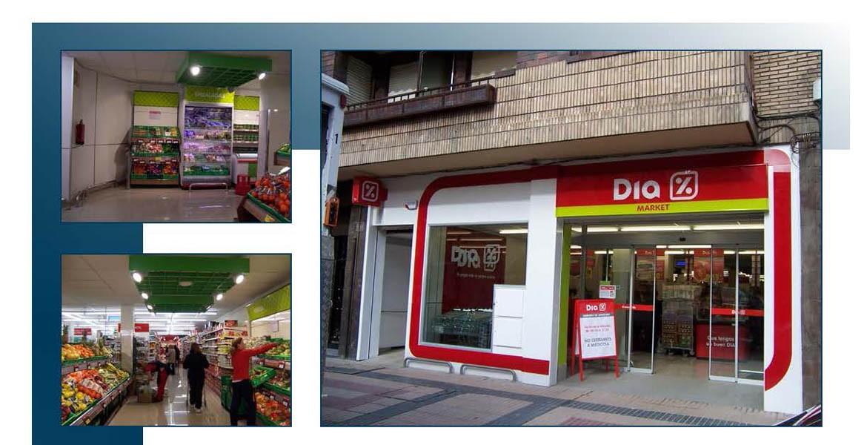 Proyecto de cambio de imagen para supermercado Dia