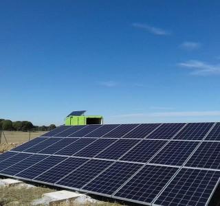 paneles riego solar