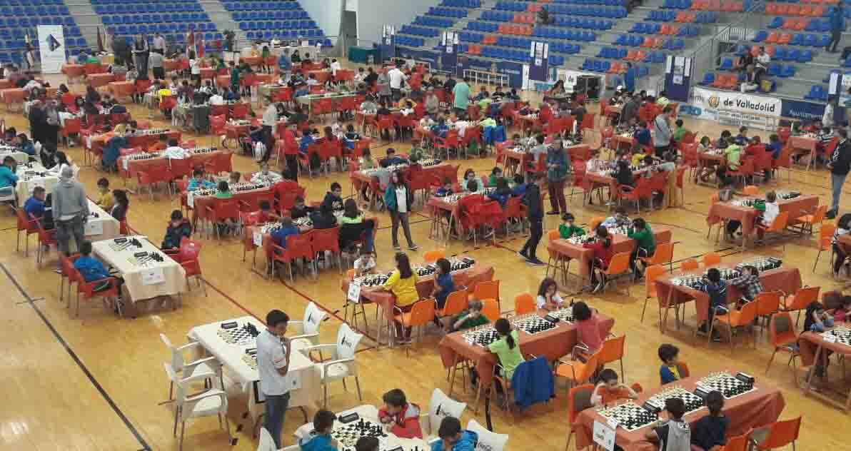 En pleno torneo de ajedrez