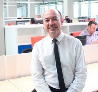 Ángel Casas Bachiller responsable del Departamento de Gas de 1A Ingenieros